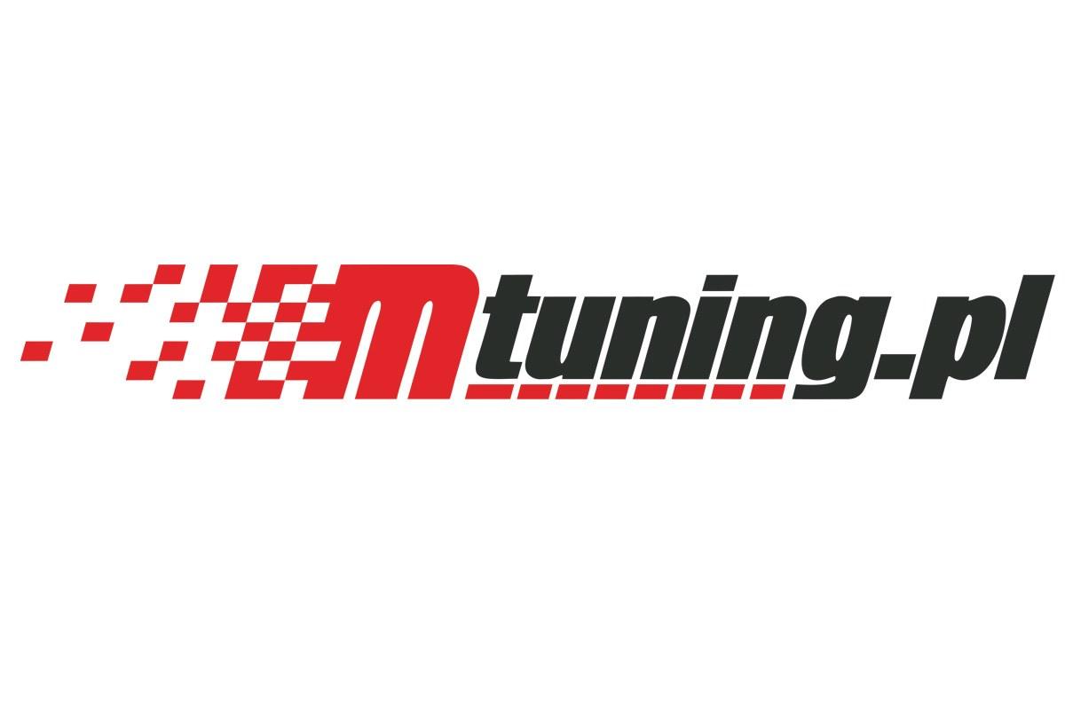 Naklejka MTuning Czerwono-Czarna - GRUBYGARAGE - Sklep Tuningowy